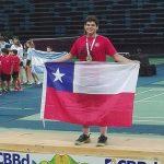 Alonso Medel se tituló campeón sudamericano Sub 17 de Bádminton