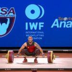 Arley Méndez es candidato de la IWF para ser el mejor pesista del mundo del 2017
