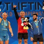 Arley Mendez se titula tricampeón mundial de levantamiento de pesas