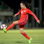 Camila Sáez es el nuevo refuerzo del Club Deportivo Tacón de la segunda división española