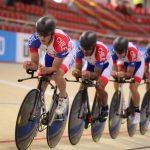 Cuarteta chilena terminó novena en la clasificación de la persecución por equipos en la Copa del Mundo de Santiago