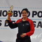 Daniela Ortega se titula campeona sudamericana de tenis de mesa
