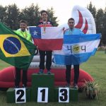 Esteban Bustos se tituló campeón sudamericano de pentatlón moderno