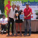 Fernanda Brito se quedó con el vicecampeonato de la Copa Las Condes