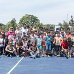 Futuros Para el Tenis y Hans Podlipnik realizan una serie de actividades para cerrar la temporada