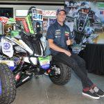 Ignacio Casale presentó el cuadriciclo con el que competirá en el Dakar 2018