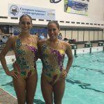 Isidora Letelier y Bianca Consigliere logran 4 medallas de plata en el Ucrania Open de Nado Sincronizado