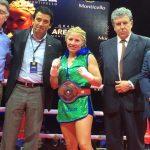 Isis Mascareña se quedó con el primer título chileno de boxeo femenino