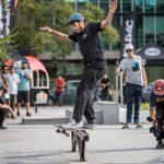 Juan Carlos Aliste ganó la versión 2017 del torneo de skate Kill to Kill Polemic