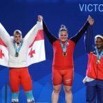 María Fernanda Valdés se titula campeona mundial de levantamiento de pesas
