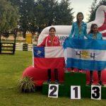 María José Bravo obtuvo medalla de plata en el Sudamericano de Pentatlón Moderno