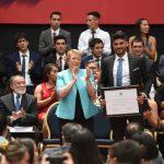 Presidenta Bachelet encabezó la entrega de los Premios del Deporte 2017