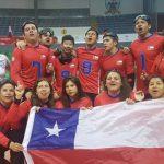 Selección Chilena Masculina se quedó con el título sudamericano de goalball