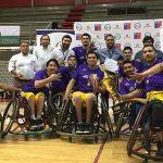 Alpos se tituló tricampeón de la Liga Nacional de Básquetbol en Silla de Ruedas