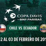 Este lunes comenzó la venta de entradas para la serie de Copa Davis entre Chile y Ecuador