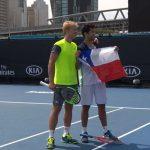 Hans Podlipnik y Andrei Vasilevski logran un triunfazo y avanzan a tercera ronda de dobles del Australian Open