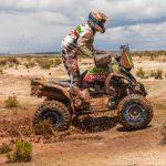 Ignacio Casale mantiene el primer lugar de los quads tras octava fecha del Dakar