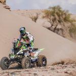 Ignacio Casale mantiene el liderato en cuadriciclos tras terminar segundo en undécima etapa del Dakar
