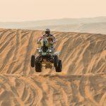 Ignacio Casale mantiene el liderato de la categoría quads tras cuarta etapa del Dakar