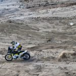 Pablo Quintanilla y José Ignacio Cornejo se encuentran en el top ten de las motos cumplidas 11 etapas del Dakar