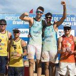 Primos Grimalt logran medalla de bronce en la primera fecha del Circuito Sudamericano de Volleyball Playa 2018