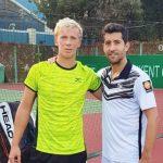 Hans Podlipnik y Andrei Vasilevski avanzaron a semifinales de dobles en Canberra