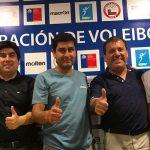 Jugadores de volleyball playa se reunieron este lunes con el directorio de la Fevochi
