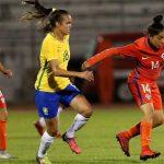 Chile cayó ante Brasil en su debut por el Sudamericano Sub 20 de Fútbol Femenino