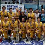 Boston College se tituló campeón de la Segunda División de la Liga Nacional de Básquetbol