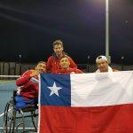 Chile se quedó con el vicecampeonato del Clasificatorio al Mundial de Tenis en Silla de Ruedas
