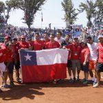 Chile derrotó a Ecuador en Copa Davis y visitará a Argentina en Abril