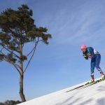 Claudia Salcedo debutó en PyeongChang terminando en el lugar 90 de los 10 kilómetros de Ski Cross Country