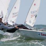 Clemente Seguel tuvo un destacado estreno en la Semana Internacional de Yachting de Mar del Plata