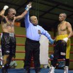 """Cristián """"Taky"""" Rojas derrotó en dura pelea a Patricio Bravo"""