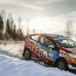 Emilio Fernández y Joaquín Riquelme terminaron séptimos en la primera fecha del Mundial Junior de Rally 2018