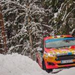 Emilio Fernández y Joaquín Riquelme se mantienen en el top 10 de la fecha sueca del Mundial Junior de Rally