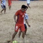 Selección Chilena de Fútbol Playa tiene nómina de jugadores para la Copa América 2018