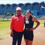 María Paz Ríos logra nuevo récord nacional de lanzamiento de la jabalina