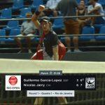 Nicolás Jarry avanza a octavos de final del ATP 500 de Río de Janeiro