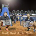 Nicolás Jarry y Hans Podlipnik se titularon campeones de dobles del ATP 250 de Quito