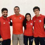 """Pablo Fajre, coach del equipo chileno de racquetball: """"En Temuco está el futuro del deporte"""""""