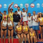 Duplas Melo/Vorphal y Martínez/Salinas ganaron la octava fecha de la Liga Nacional de Volleyball Playa