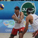Primos Grimalt debutaron con triunfos en la quinta fecha del Circuito Sudamericano de Volleyball Playa