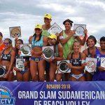 Primos Grimalt se quedaron con la medalla de plata en la segunda fecha del Circuito Sudamericano de Volleyball Playa