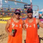Primos Grimalt sumaron dos triunfos en la fecha final del Circuito Sudamericano de Volleyball Playa 2018
