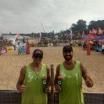 Primos Grimalt avanzan a cuartos de final en segunda fecha del Circuito Sudamericano de Volleyball Playa