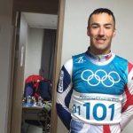 Yonathan Fernández ocupó la posición 102 en una nueva jornada del Ski Cross Country en PyeongChang