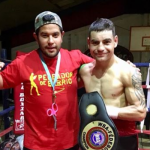 """Ramón """"Toro"""" Contreras retuvo su título súper gallo Fedebol de la AMB"""
