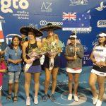 Alexa Guarachi se titula campeona de dobles del ITF de Irapuato