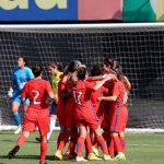 La Roja Femenina se impuso a Colombia en partido amistoso a puertas cerradas